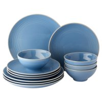 Waitrose Dining Ilkley Blue Dinnerware 12