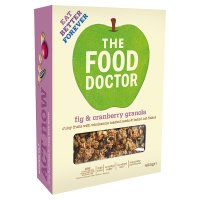 Food Doctor fig & cranberry granola