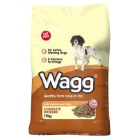 Wagg Complete Worker chicken & vegetable