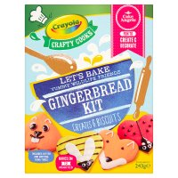 Crayola Crafty Cooks Gingerbread Kit