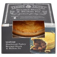 Waitrose braised steak & stilton pie