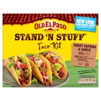 Old El Paso stand'n'stuff taco