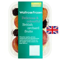 Waitrose British frozen orchard fruits