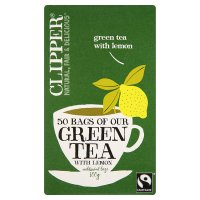 Clipper Green Tea & Lemon - 50 Bags