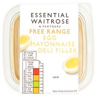 essential Waitrose egg mayonnaise deli filler