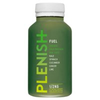 Plenish Fuel Raw pressed Juice.