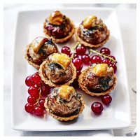 Pork, bacon & parsley stuffing tartlets
