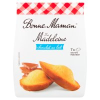 Bonne Maman 7 Madeleine Cakes with Milk Chocolate