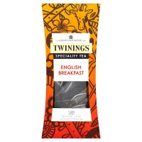 Twinings English breakfast - whole leaf silky pyramids 15 tea bags