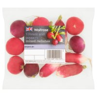 Waitrose mixed radishes