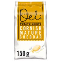Walkers Market Deli mature cheddar sharing crisps