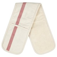 Waitrose Cooking herringbone double oven glove