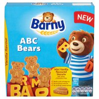 Barny ABC Bears vanilla choc chips biscuits