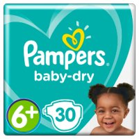 Pampers baby-dry 6+ extra large 16+ kg