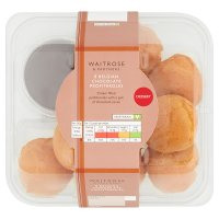 Waitrose 8 cream profiteroles