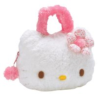Hello Kitty plush handbag