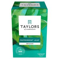 Taylors peppermint leaf wrapped tea bags, 20 pack