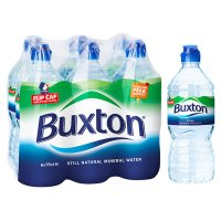 Buxton still natural mineral water