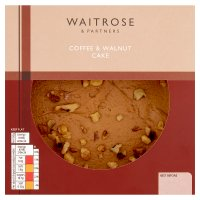 Waitrose coffee & walnut cake