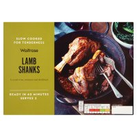 Waitrose Lamb Shanks