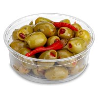Stuffed Olives with Pepper & Chilli