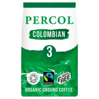 Percol Fairtrade smooth Colombia medium ground coffee