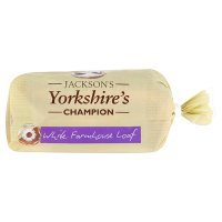 Jackson's Yorkshire's champion white farmhouse loaf