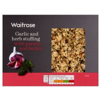 Waitrose Garlic & Herb Stuffing with Butter