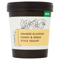 Waitrose 1 Orange Blossom Honey & Greek Style Yogurt