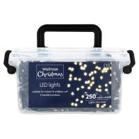 Waitrose Christmas LED Lights White