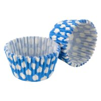Tala blue&white spot cupcake cases, pack of 32