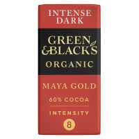 Green & Black's organic Maya Gold dark chocolate bar