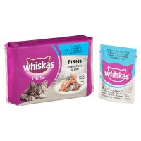 Whiskas Oh So fishy  in jelly pouch cat food