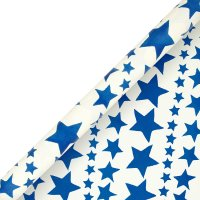 Emma Bridgewater roll wrap navy star