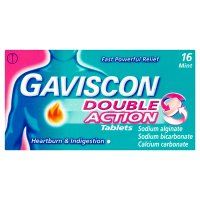 Gaviscon 16 double action tablets