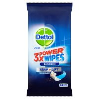 Dettol 3XPower Bathroom Wipes