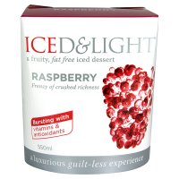 Iced & Light raspberry