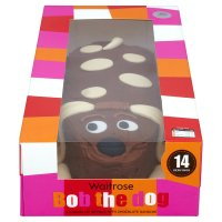 Waitrose Bob the dog cake