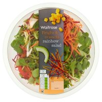 Waitrose rainbow salad