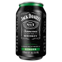 Jack Daniel's Whiskey & Ginger