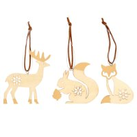 Waitrose Animal Tree Decoration