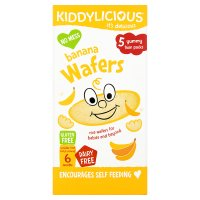 Kiddylicious banana 10 wafers
