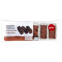 essential Waitrose chocolate slices