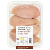essential Waitrose 3-5 British chicken breast fillets