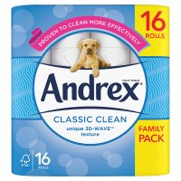Andrex Classic White Toilet Rolls
