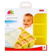 by NUK food cube tray