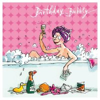 Quentin Blake Female Birthday Card