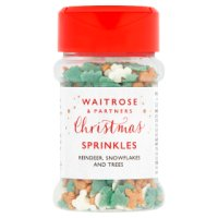 Waitrose Christmas Sprinkles