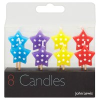 John Lewis star candles