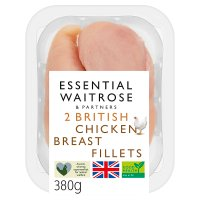 essential Waitrose 2 chicken breast fillets
